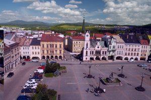 Czeski w Czechach - miasto